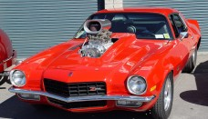 1972 Chevrolet Camaro Z28 Red Blower Free Download Image Of