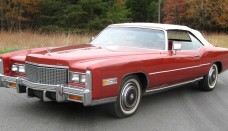 1976 Cadillac Eldorado Convertible Desktop Background