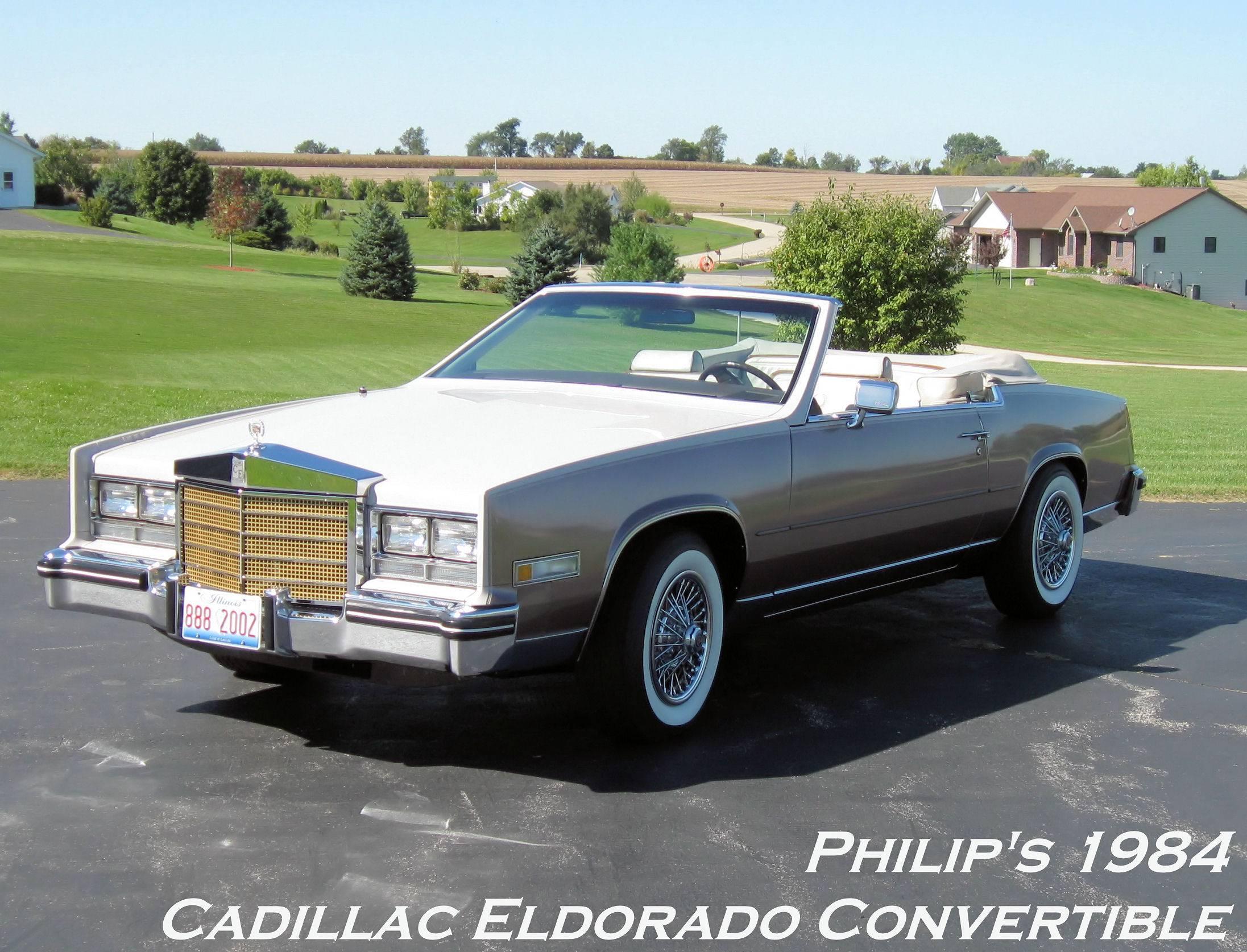 1984 Cadillac Eldorado Concept Wallpaper For Phone