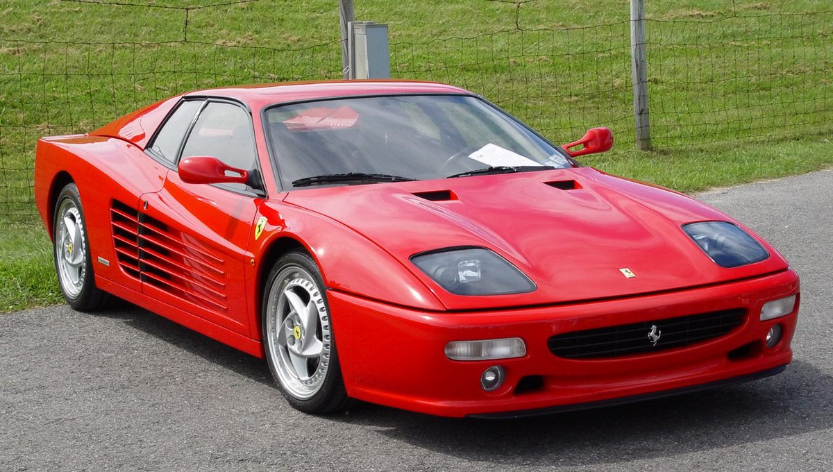 1995 Ferrari 512M Red Front Angle World Cars Wallpaper For Android