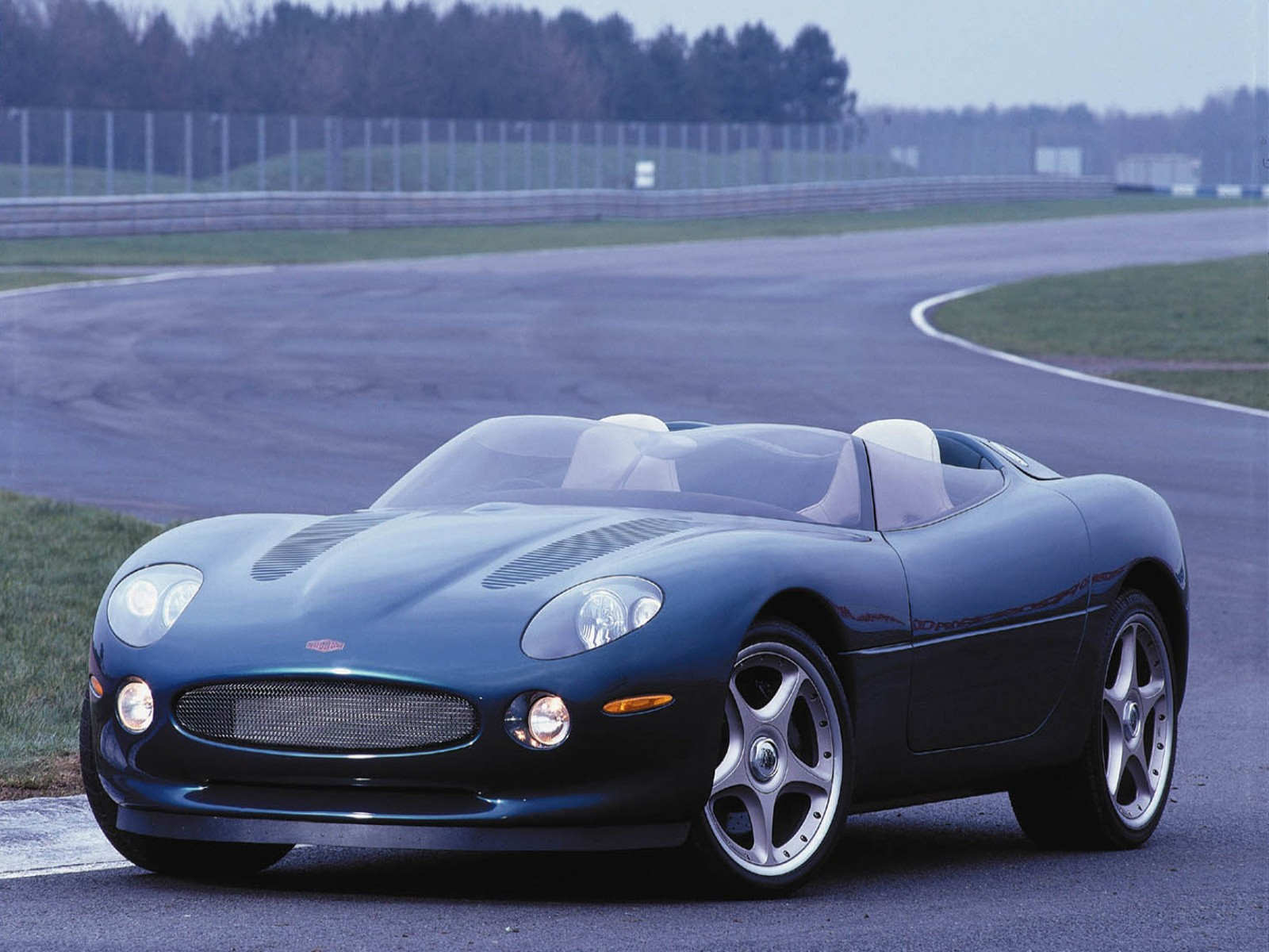 1998 Jaguar XK180 Concept High Resolution Wallpaper Free