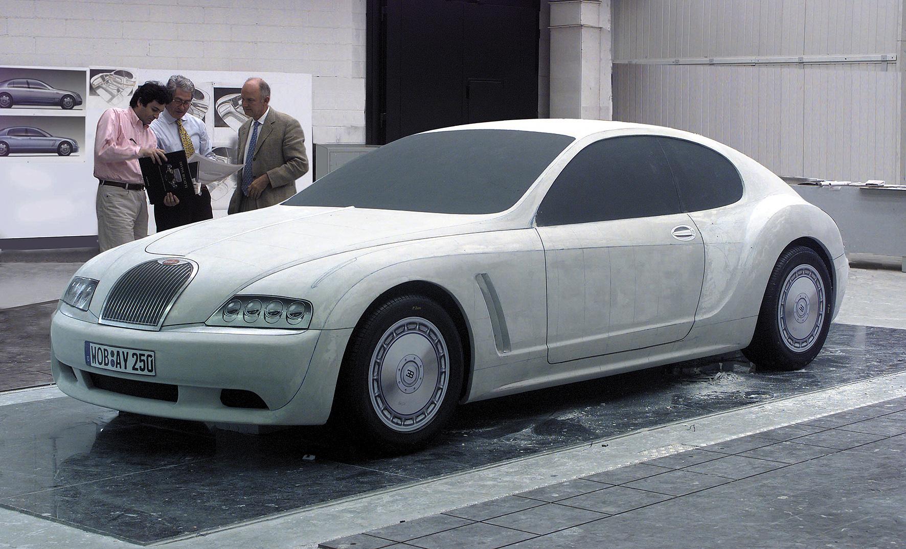Ital Design Bugatti EB 218 Clay Model Wallpapers Background