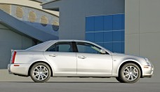 2005 Cadillac STS Side Wallpaper Background