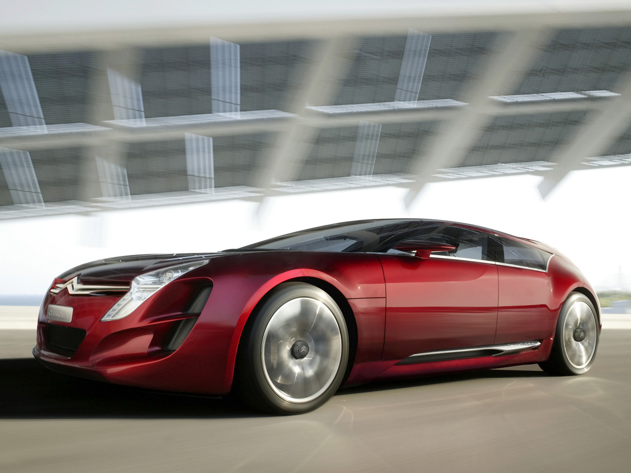 2006 Citroen C Metisse Concept Front And Free Download Image Of