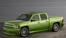 2007 Chevrolet Silverado Rally Sport Side Angle Wallpapers For Desktop