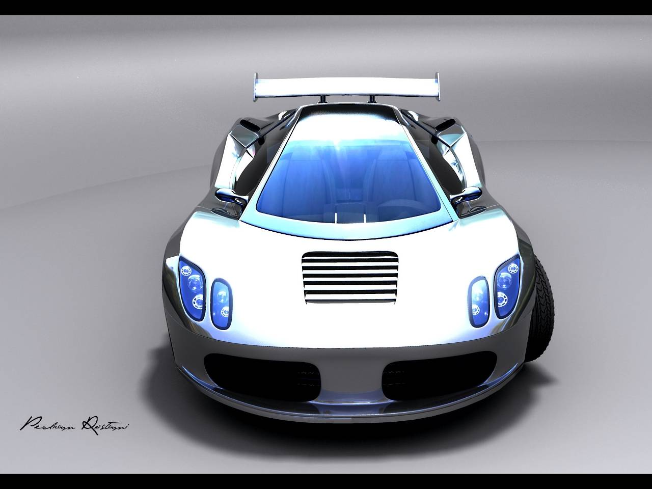 2007 Ferrari Adonai F 800 Concept Design by Pedram Rostami Kaliteli Wallpaper For Iphone