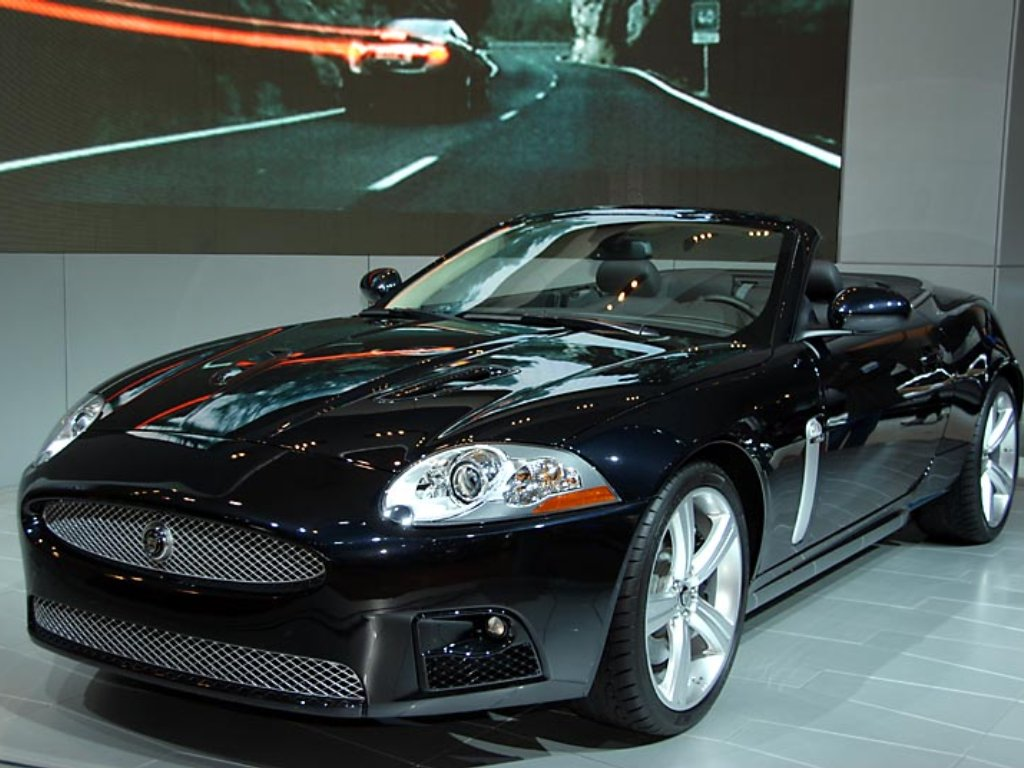 2007 Jaguar XKR Convertible For Desktop
