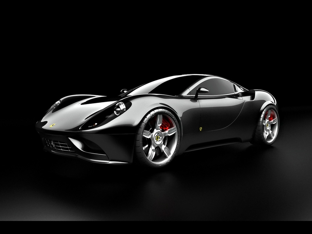2007 Ferrari Dino Concept Design by Ugur Sahin Front And Side World Cars Wallpaper For Iphone