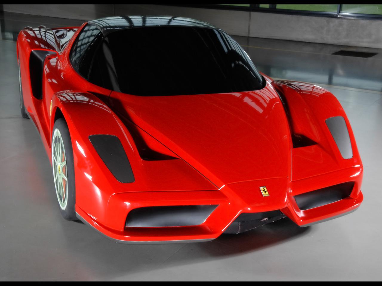 2007 Ferrari Millechili Concept Model Front Angle Top World Cars Desktop Background
