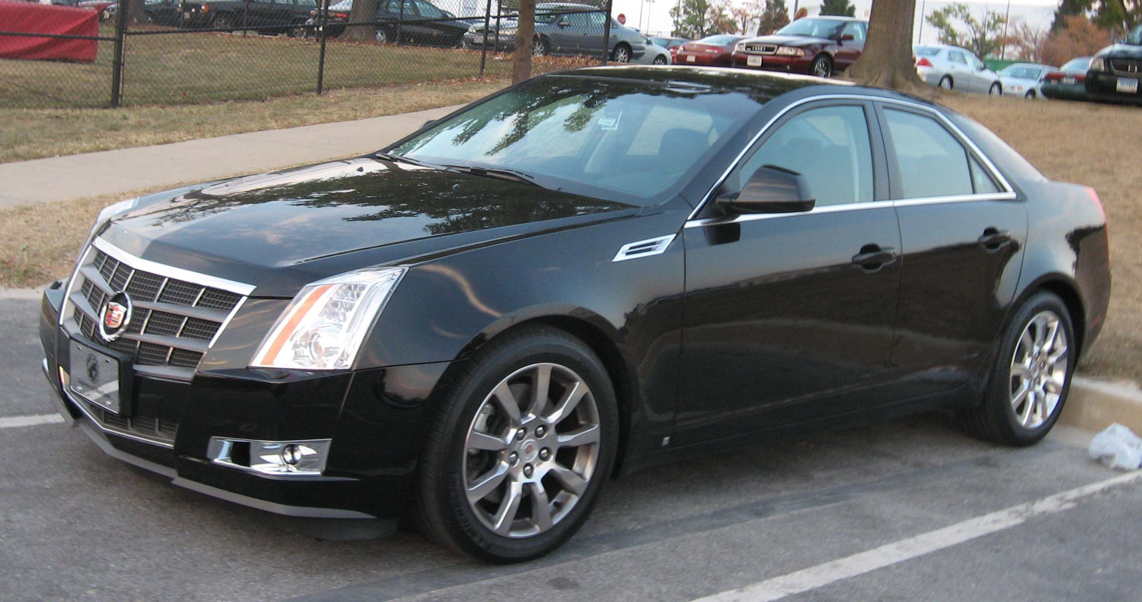 2008 Cadillac CTS4 Beschreibung Wallpapers Background