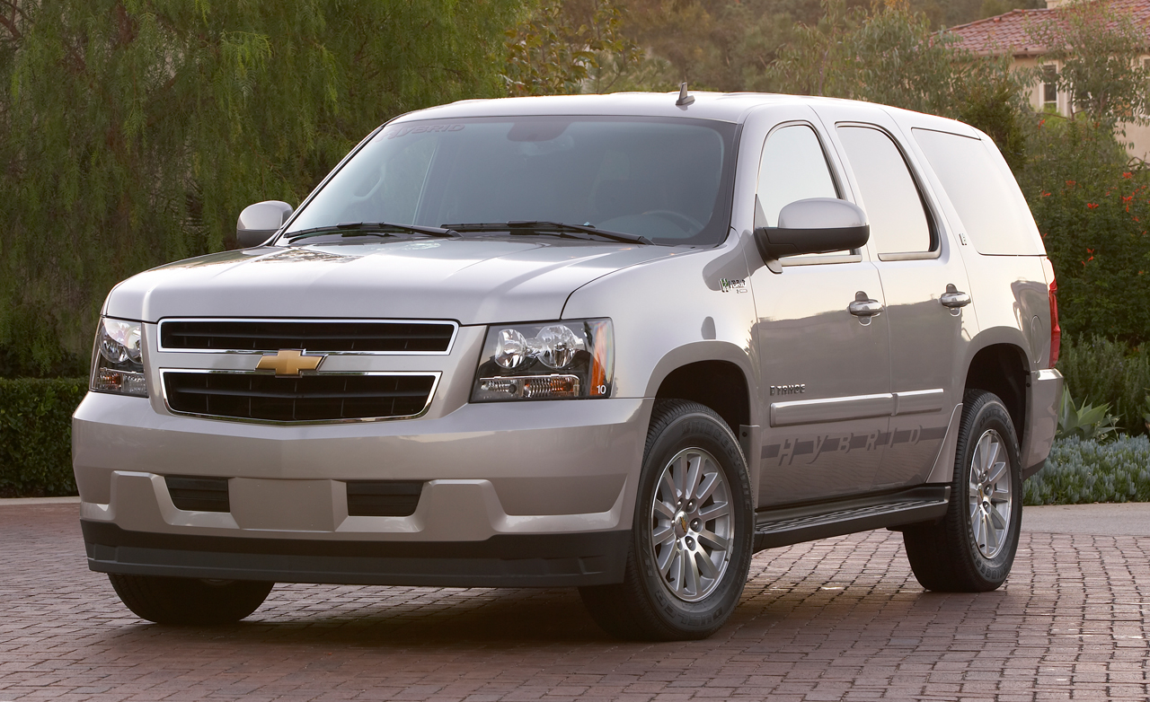 2008 Chevrolet Tahoe Hybrid Am I Drive Desktop Backgrounds