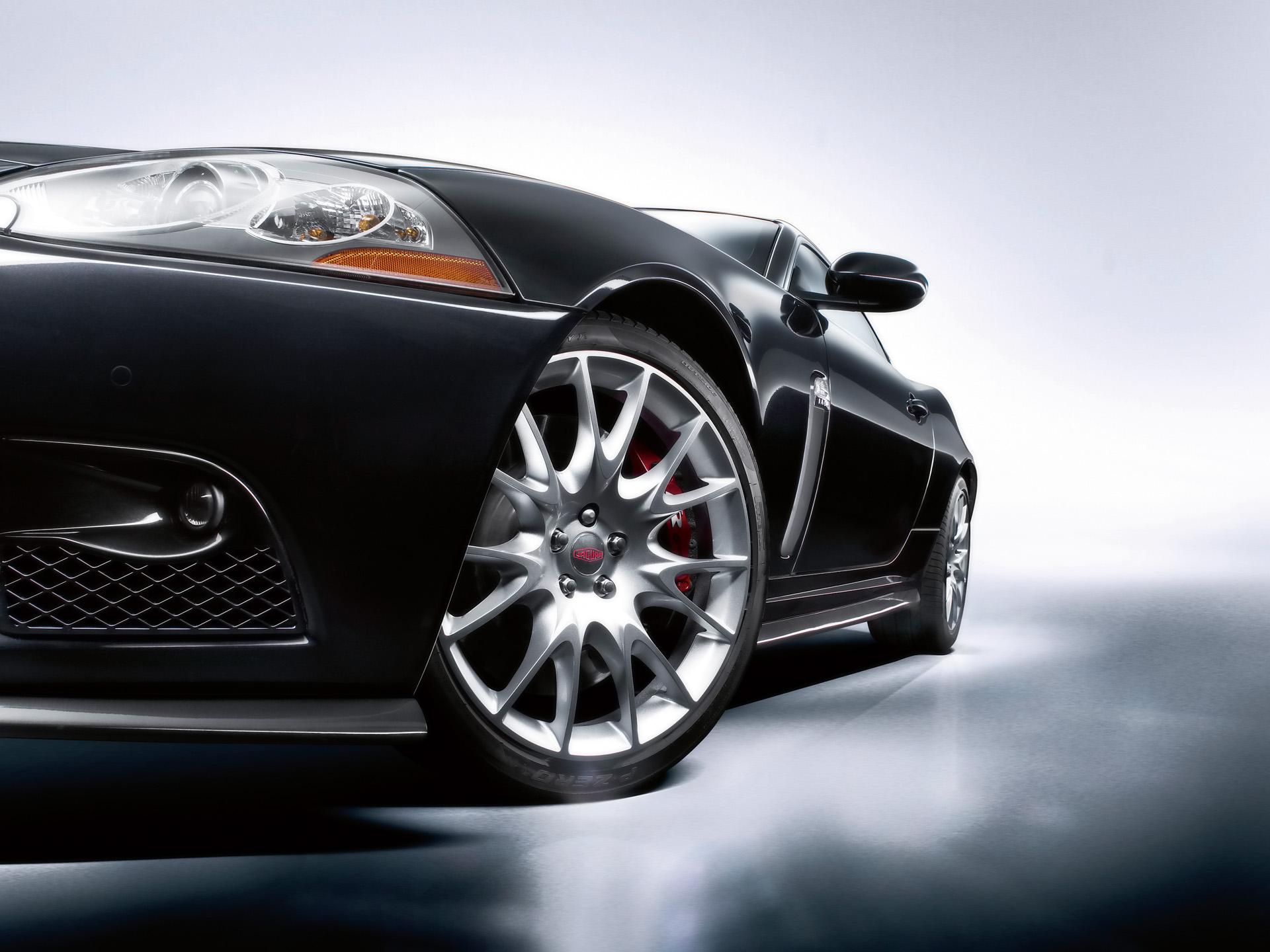2008 Jaguar XKR S Studio Section Wallpaper Free For Tablet
