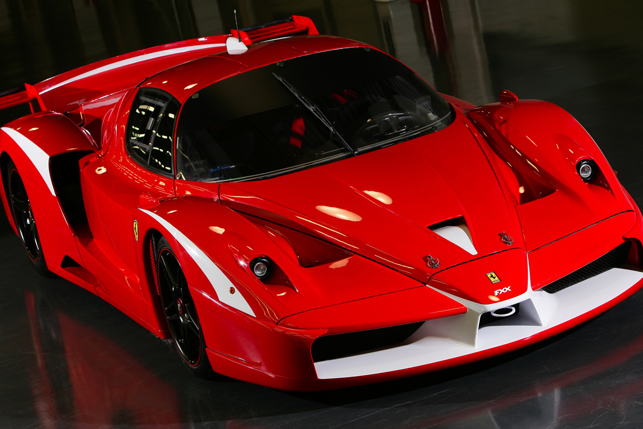 2008 Ferrari FXX Evoluzione World Cars Wallpaper For Ipad