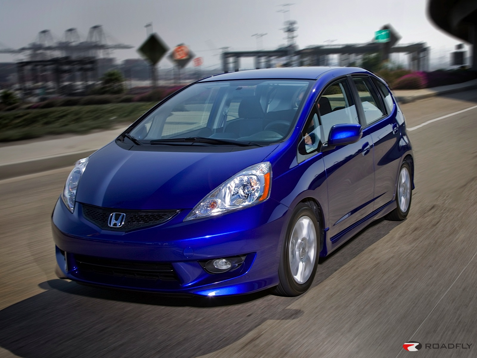 2009 Honda Fit Sport Wallpaper For Computer