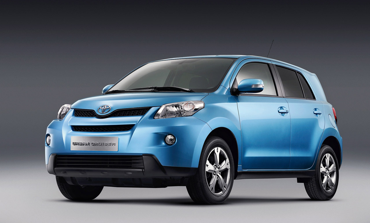 2008 Toyota iQ and Urban Cruiser Unveiled  Preview Production Ready Wallpaper Download