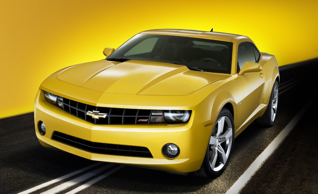 2010 Chevrolet Camaro Four Distinct Generations Wallpaper HD