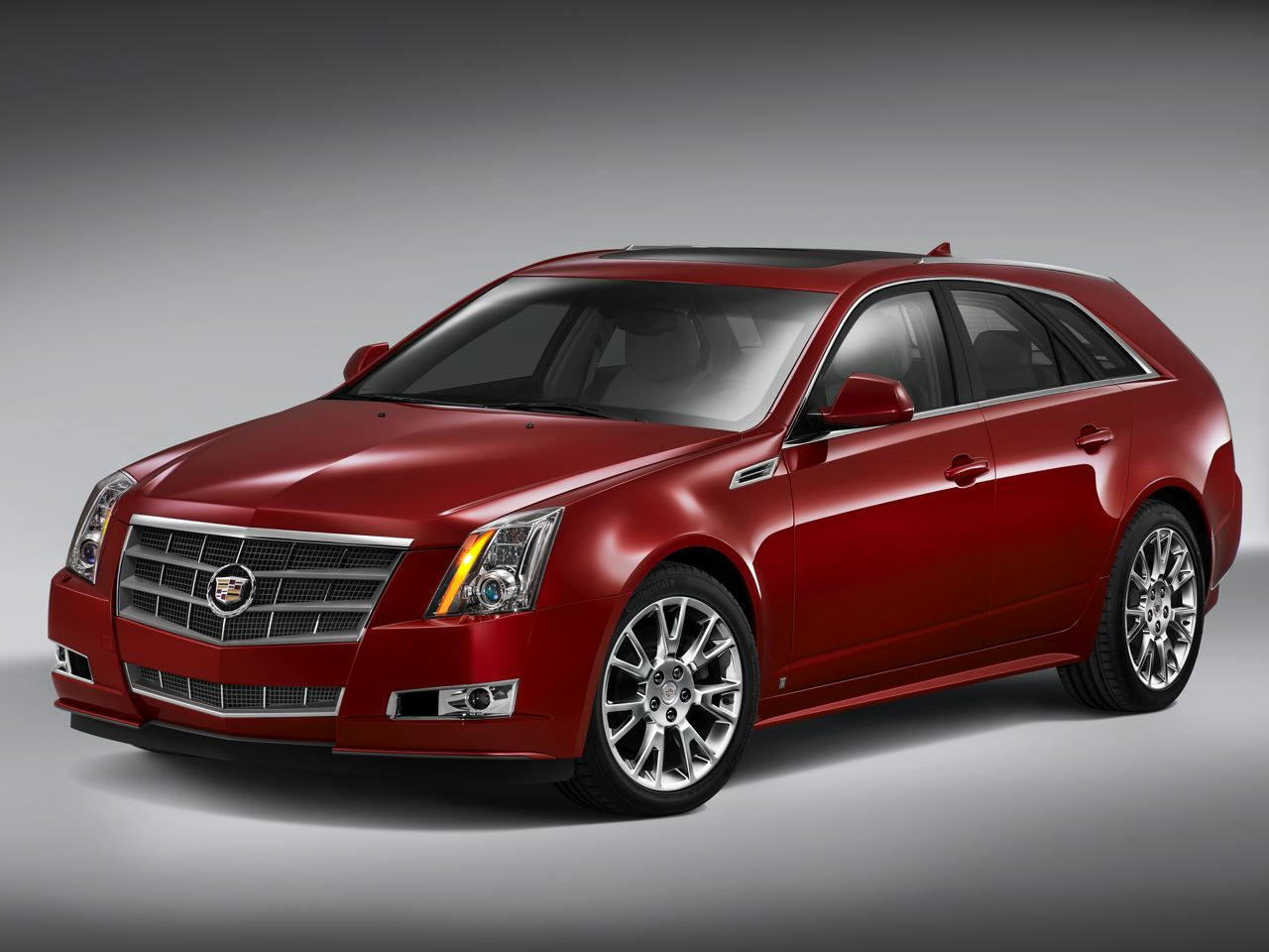2010 Cadillac CTS Sport Wagon Has Officially Unveiled Wallpapers Background