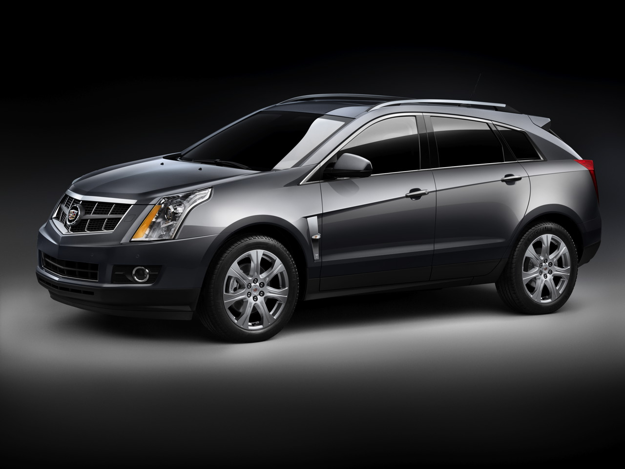 2010 Cadillac SRX Officially Unveiled Crossover Desktop Background