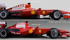 2010 Ferrari F10 and 2009 Ferrari F60 F1 Side by Side Pictures World Cars Wallpaper For Desktop