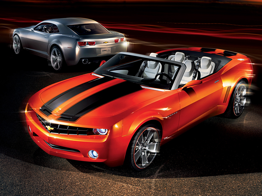 Chevrolet Camaro 2011 Silver Edition High Resolution Wallpaper Free