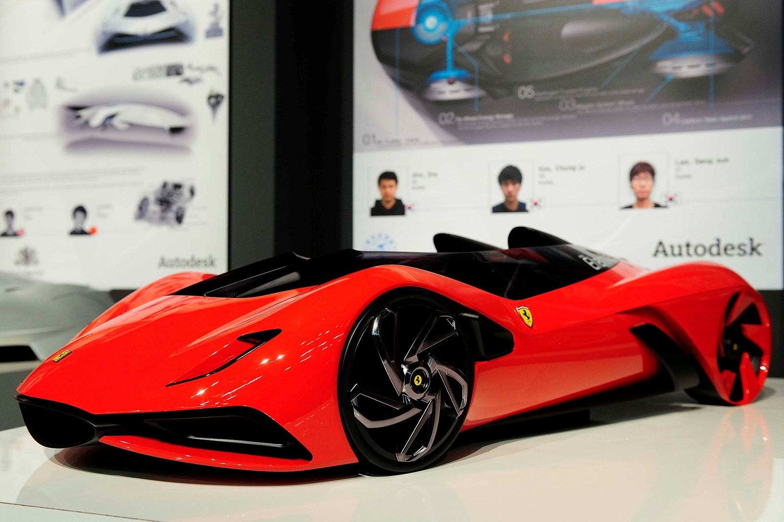 2011 Ferrari World Design Contest Eternita by University of Hongik World Cars High Resolution Wallpaper Free
