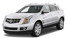 2011 Cadillac SRX FWD 4 Door Performance Collection Angular Front Wallpapers Background