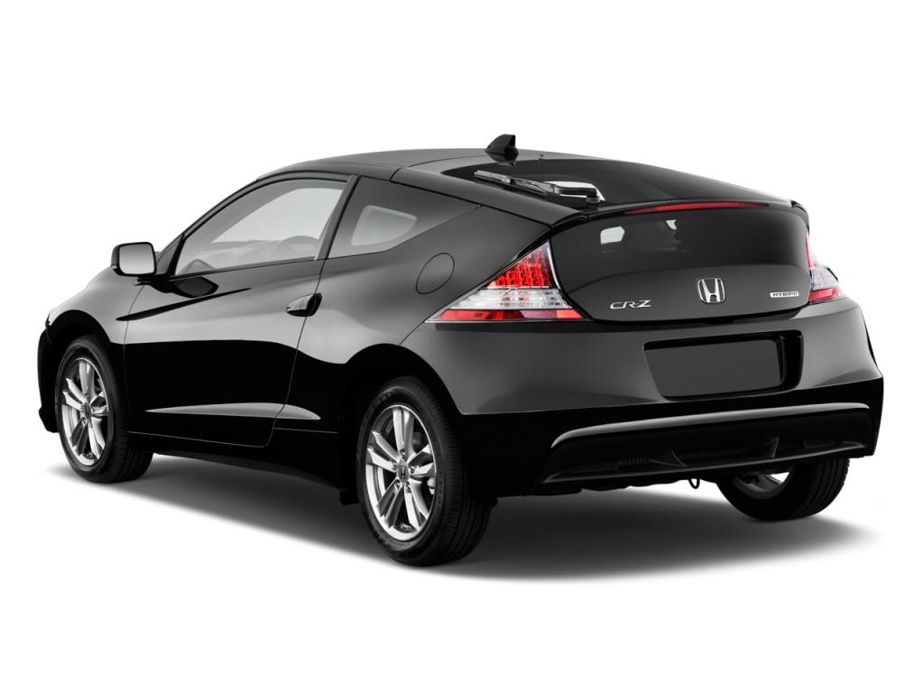 2011 Honda CR-Z 3dr CVT EX w/Navi Angular Rear Exterior View Wallpaper For Ios