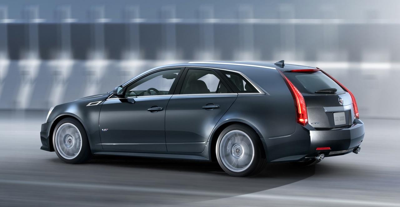 2011 Cadillac CTS-V Sport Wagon Debuts Wallpapers Desktop Download