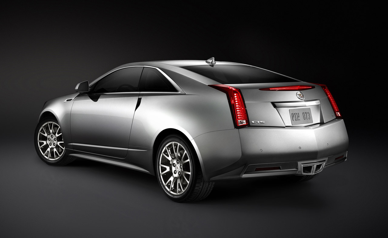 2011 Cadillac CTS Coupe Rear Much Anticipated Has Entered Production Wallpapers Download