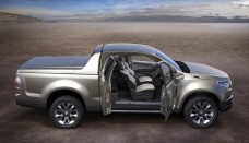 2012 Chevrolet Colorado Pickup Truck Wallpaper For Background
