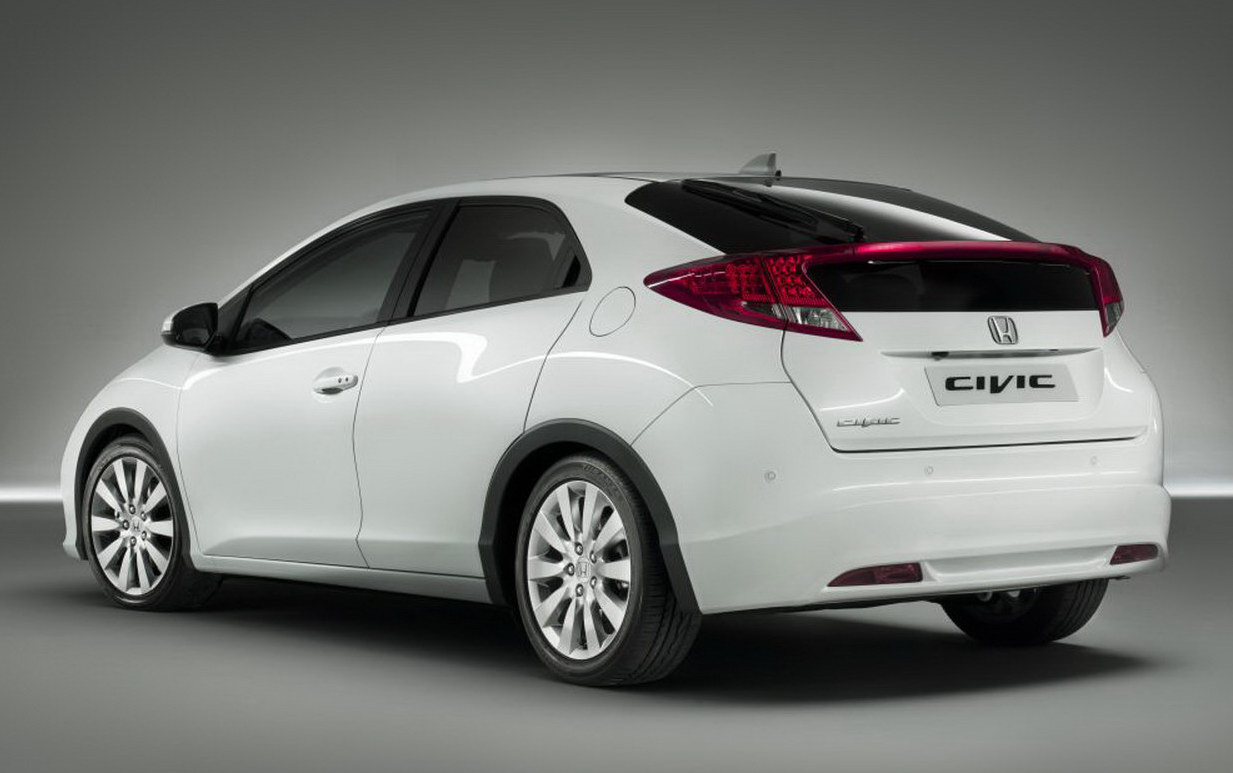 2012 Honda Civic Hatchback Unveiled Ahead of Frankfurt Motor Show Wallpaper Desktop Download