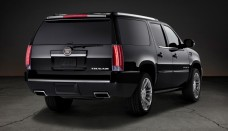2013 Cadillac Escalade ESV Rear Three Quarter Photo Wallpapers Background