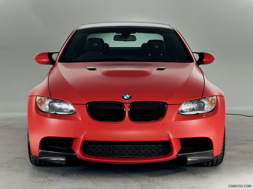 2013 BMW M3 UK Performance Edition Frozen Red Wallpapers HD