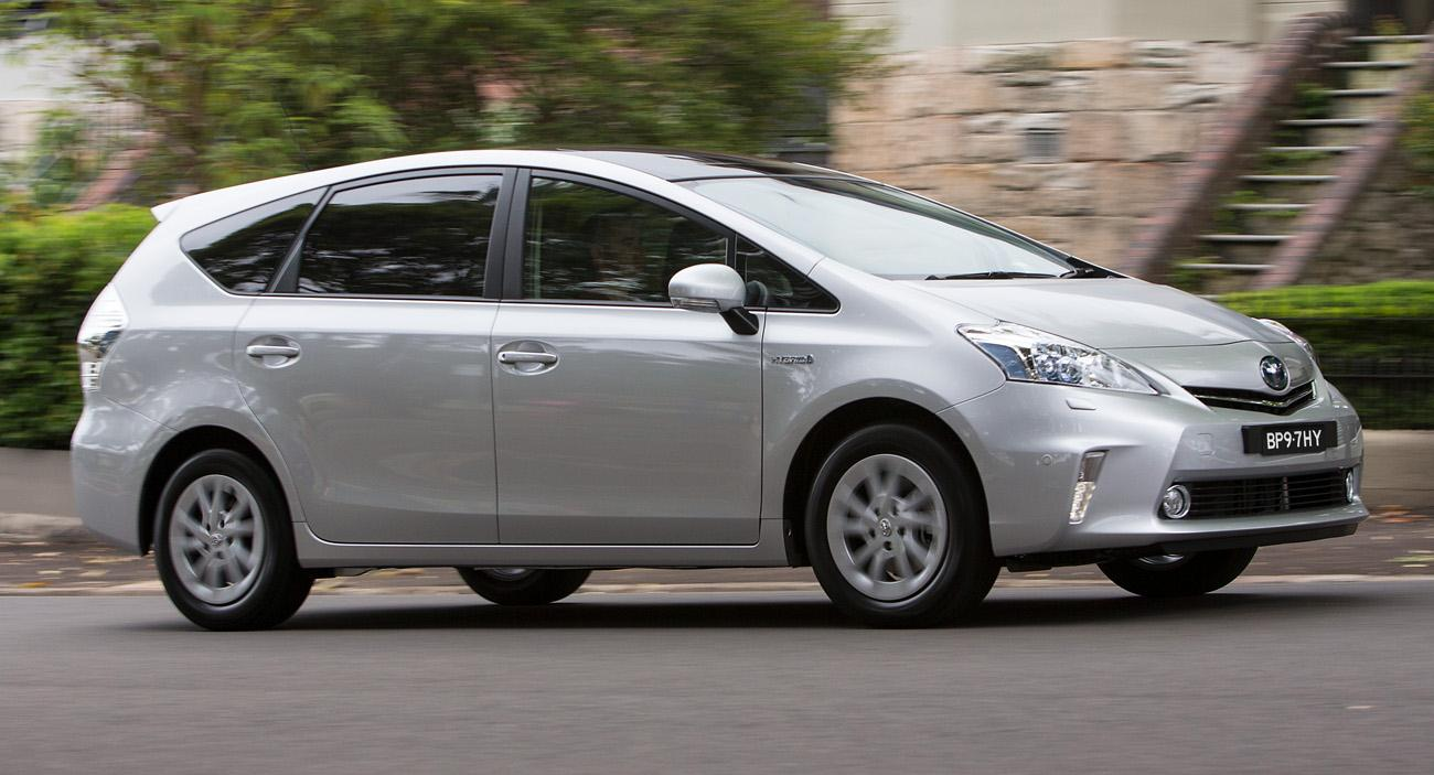 2013 Toyota Prius V i Tech On Sale In Australia Wallpapers HD