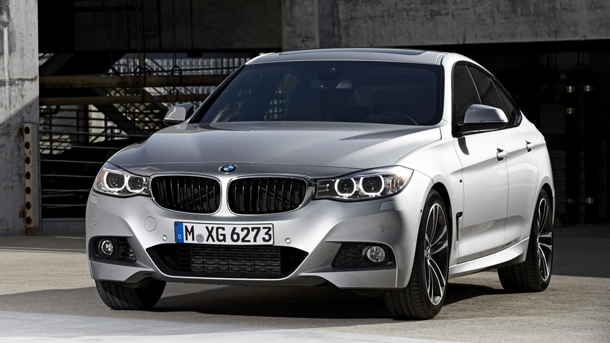 2014 BMW 3 GT Series 6 Wallpaper For Ipad