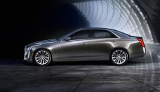 2014 Cadillac CTS Left Side View Wallpapers HD