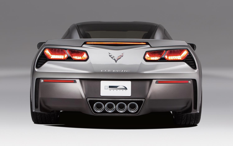 2014 Chevrolet Corvette Stingray Rear End Photo Gallery Wallpaper Backgrounds