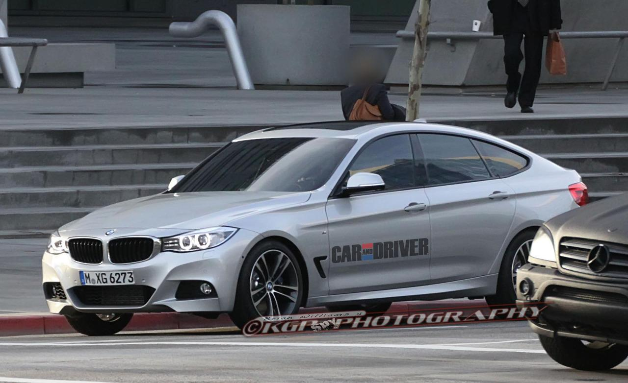 2014 BMW 3 Series GT Spy Photo Wallpaper For Computer