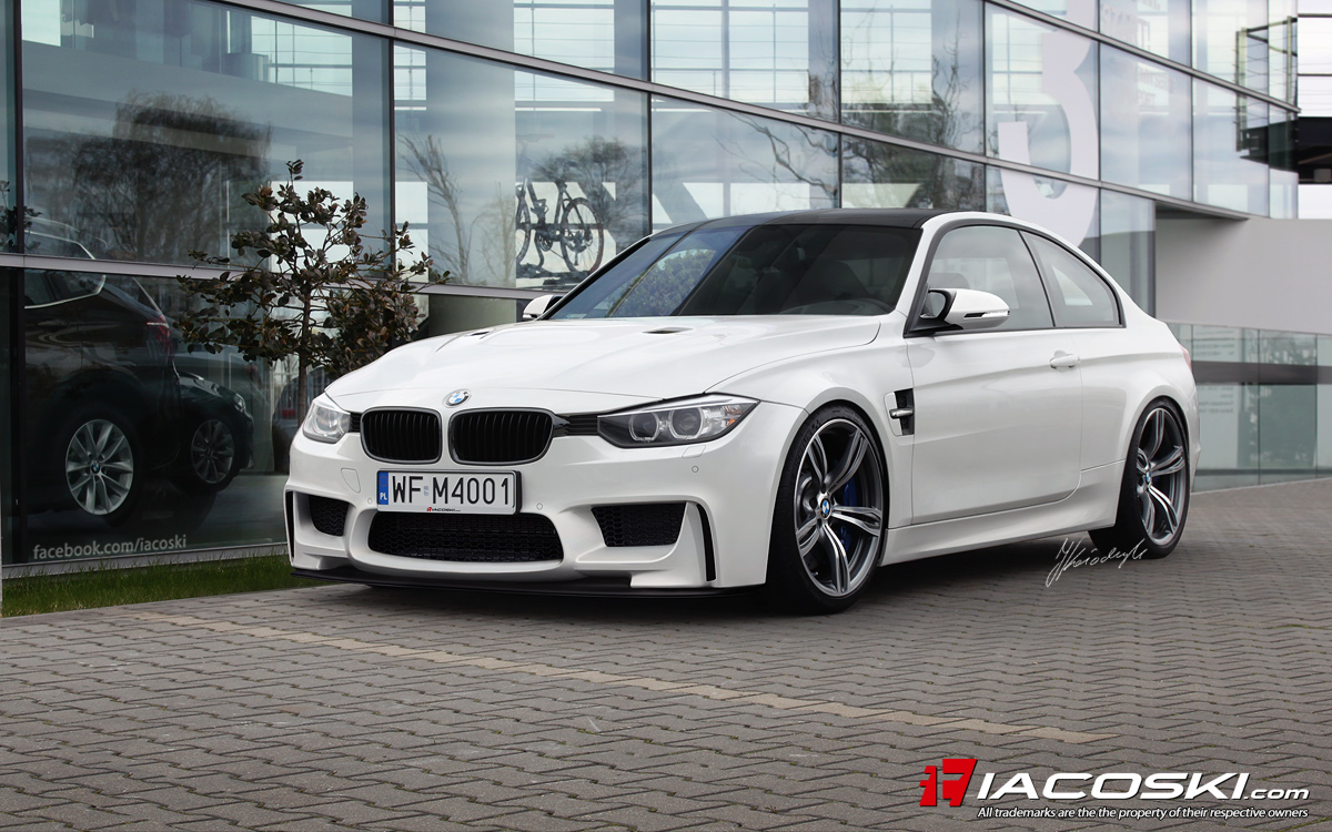2014 BMW F82 M4 Coupe Renderings Wallpapers HD