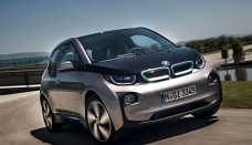 2014 BMW i3 Front Motion Wallpapers HD