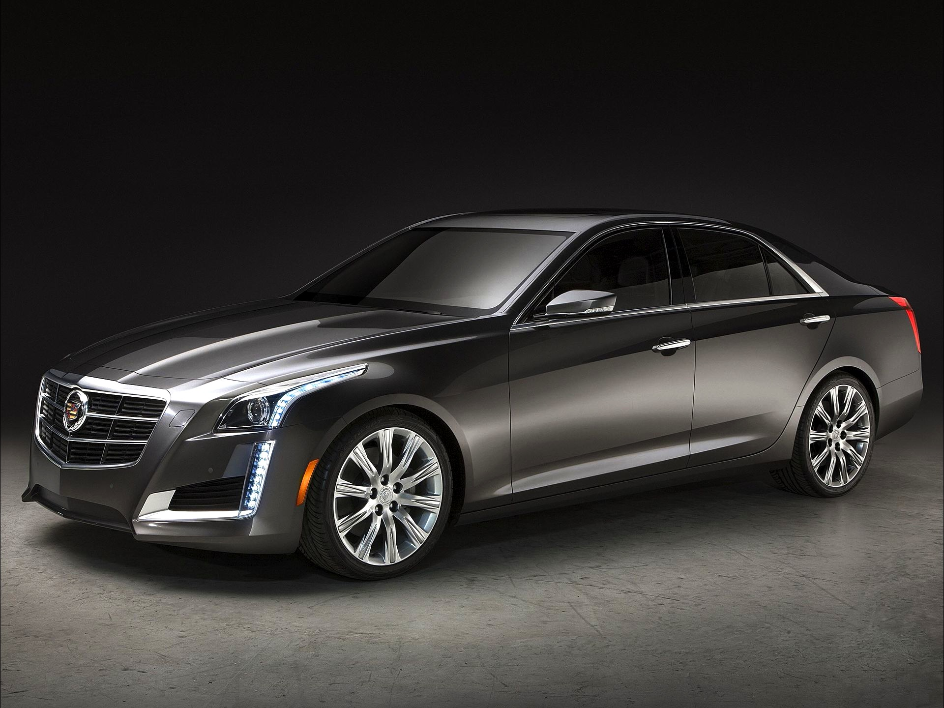 The Cadillac CTS V was unveiled at the 2014 New York Auto Show that Wallpapers HD