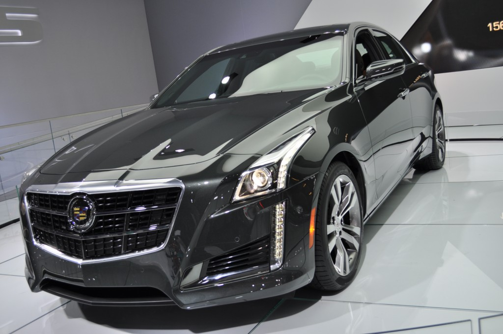 2014 Cadillac CTS Video Preview New York Auto Show Wallpapers HD