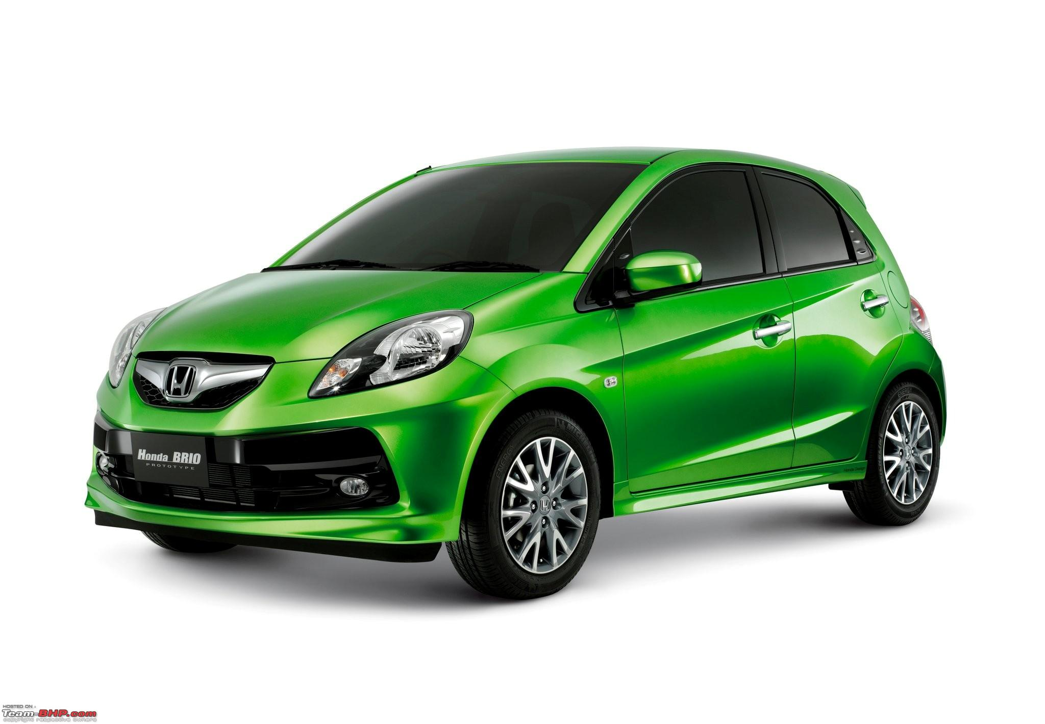 Honda Brio Small Car For India Desktop Backgrounds