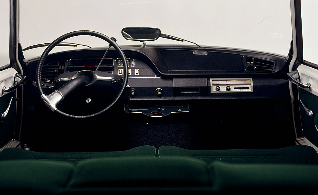 Citroen DS 1955 Interior Wallpaper For Phone