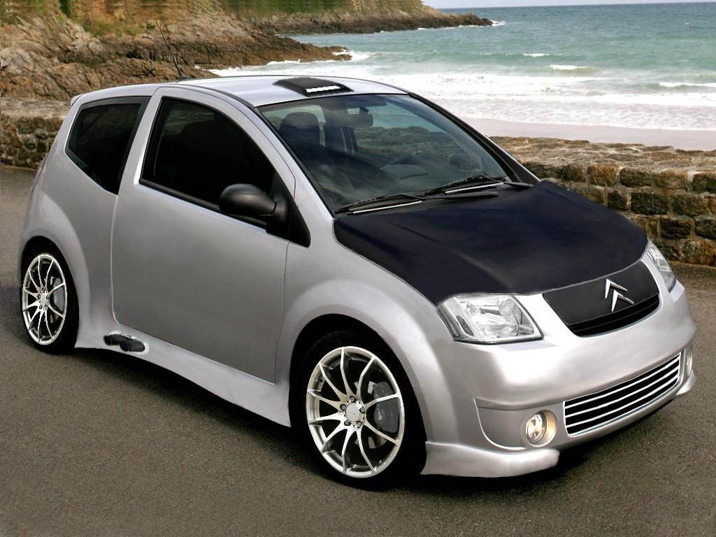Citroen c2 Tuning Wallpaper For Iphone Free
