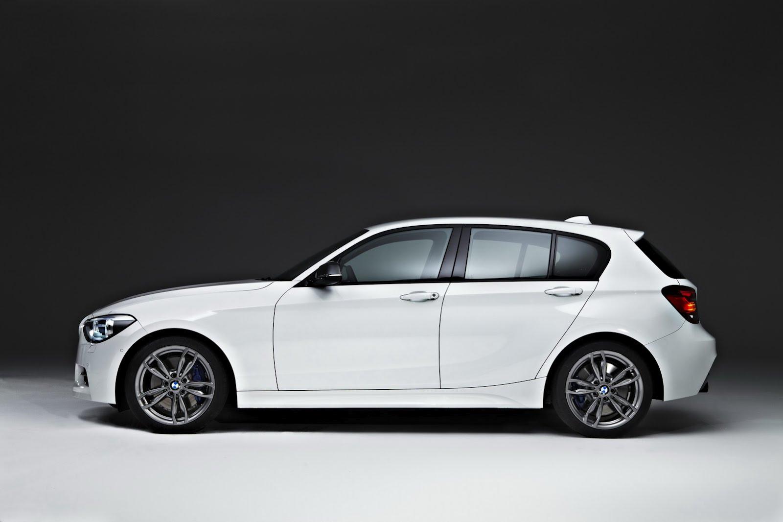 New BMW 114i and M135i As Five-Door Hatchback Desktop Backgrounds