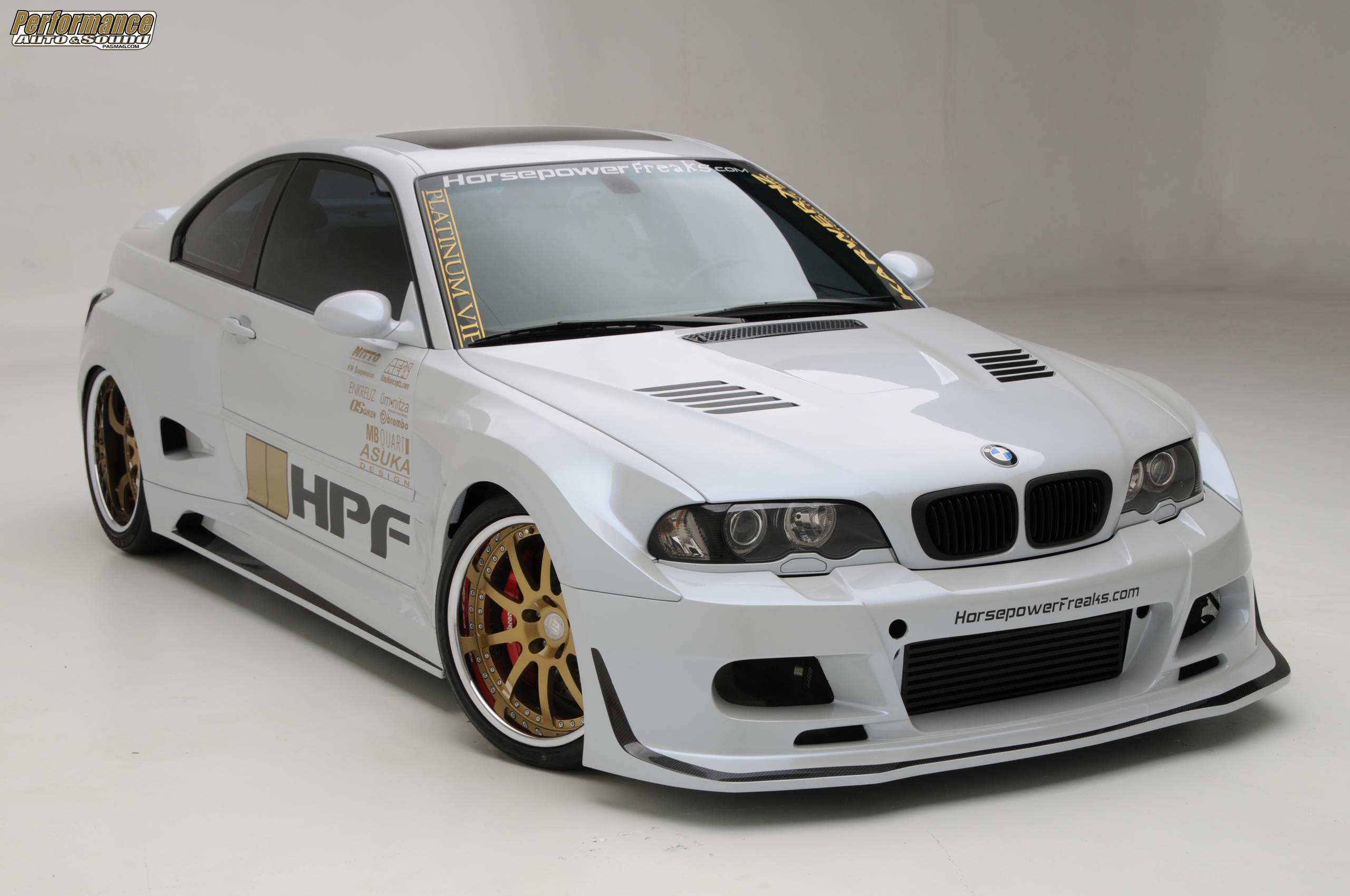 BMW E46 M3 TURBO BY HPF Desktop Backgrounds