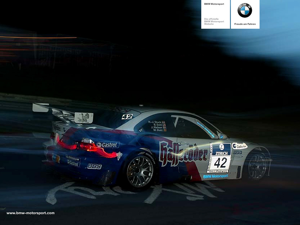 BMW M3 GTR E46 Wallpaper For Android