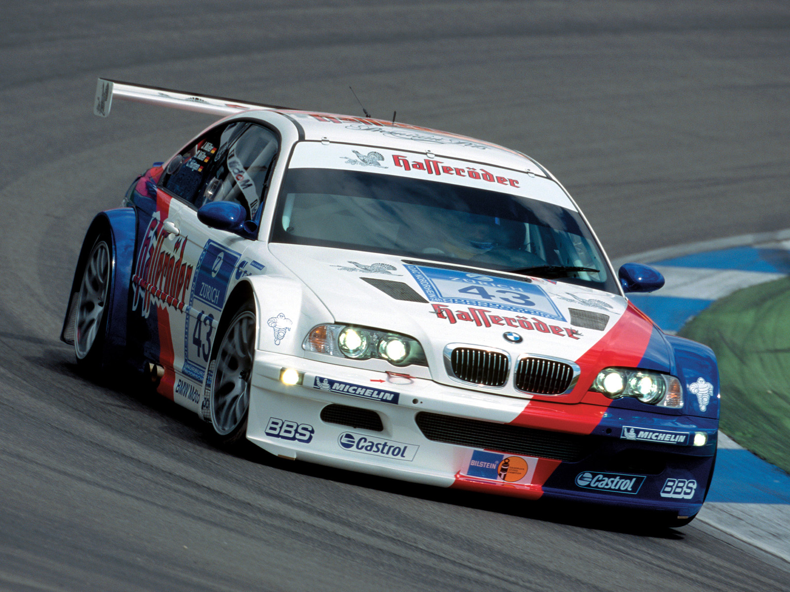 BMW M3 GTR E46 2001 Wallpaper For Android