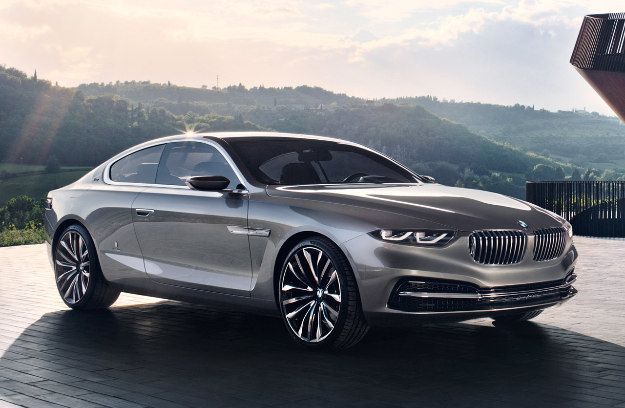 BMW Pininfarina Gran Lusso Coupe Wallpapers Download